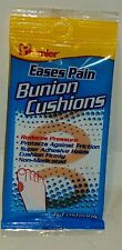 Premier Bunion Cushions, Eases Pain Reduces Pressure Adhesive Holds Firmly 6 ct.