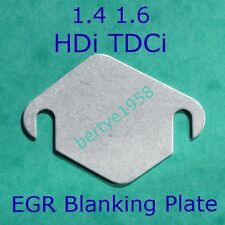 EGR Blanking Plate Peugeot Citroen HDi Ford TDCi Volvo D 1.4 1.6 Mazda blank A