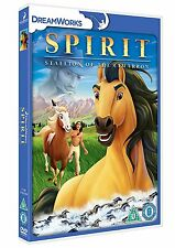 SPIRIT - STALLION OF THE CIMARRON - DVD - REGION 2 UK
