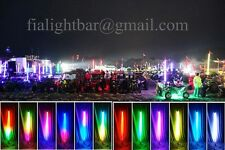 Promotion 10PCS 4ft Dream Color Whips 300LEDs Multicolor LED Whips Free shipping