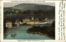 Hinsdale NH Granite State Mowing Machine co c1905 Postcard COPPER