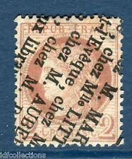 Classique France Cérès N°51 centrage parfait cachet typo ; joli timbre