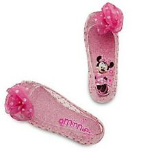 MiNNiE MoUsE~Pink~LiGhT Up Costume SHOES~Size 7/8~Polka Dot~NWT~Disney Store