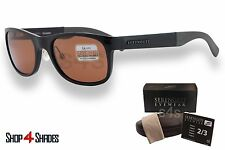 Serengeti Piero Sunglasses Shiny Black_Polarised Photochromic Drivers 7634