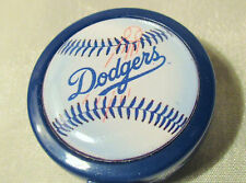 LA DODGERS - ID Badge Reel Holder pull work card BASEball Large Face belt clip