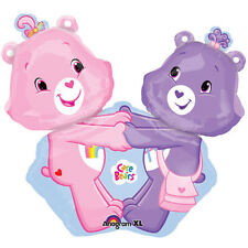 CARE BEARS SUPERSHAPE FOIL MYLAR BALLOON ~ Birthday Party Supplies Decorations