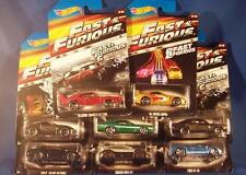 Hot Wheels 2015 Fast & Furious Set Of 8 Nissan Toyota Buick Ford Dodge Subaru