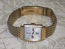 Men's RARE Handsome Vintage YORKSHIRE 14 kt Solid Yellow Gold Mechanical  Watch