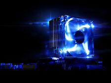 LED Fan CPU Cooler Heatsink 4 pipes for Intel LGA775/1156/1155 AMD AM2+/AM3+/AM3