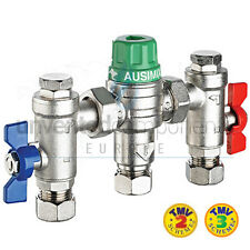 Reliance Water Ausimix 15mm Compact 4 in 1 Thermostatic Mixing Valve RWC