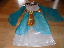 Girl's Size Medium 7-8 Cleopatra Egyptian Costume Dress Headpiece & Scepter New
