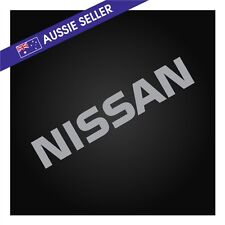 SILVER NISSAN Sticker Decal for R31 Skyline HR31 GTS GTSX RB20 RB20DET