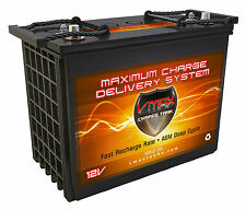 XTR155 12V VMAX 155AH AGM Battery Group GC12 Replaces Trojan TRO-80140 GC12-AGM
