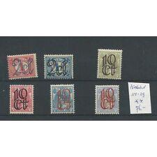 Nederland 114-119 Opruimingsuitgifte MNH/postfris  CV 76 €