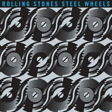 CD album ROLLING STONES STEEL Wheels (terrifying, mixed Emotion) Sony 80`s
