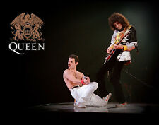 Queen Freddie Mercury, Brian May Wall Art Print 14 x 11""