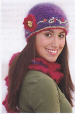 Crochet Pattern ~ LADIES PRETTY WINTER BEANIE, Hat ~ Instructions