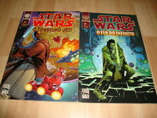 STAR WARS O CONSELHO JEDI - O FIM DO INFINITO X 2 COMICS A COLOR EN PORTUGUES