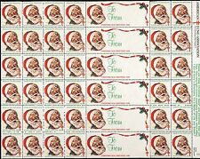 1983 US Christmas Seal - Sheet of 36 + Labels - Mint Never Hinged