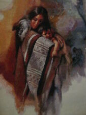 Crafts, Sacred Gift, Counted Cross Stitch, Finished, Unframed, Native American