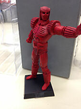 CRIMSON DYNAMO ACTION FIGURE MARVEL - EAGLEMOSS COMIC BOOK COLLECTION LEAD 04