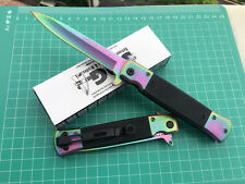 SOG Assisted Opening Colorized Folding Pocket Knife Outdoor Hunting Saber Gift