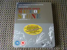 Blu Steel 4 U: The Stone Roses : Made Of Stone : 1 Blu & 2 DVDs Steelbook Sealed