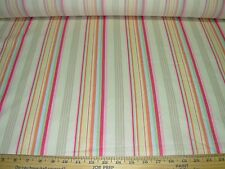 """~20 YDS~RALPH LAUREN~""""CARSLEY STRIPE"""" COTTON UPHOLSTERY FABRIC FOR LESS~"""