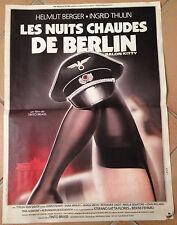 LES NUITS CHAUDES DE BERLIN - Salon Kitty - affiche cinema erotique 40x60