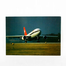 Swissair - Airbus A310 - Aircraft Postcard - Top Quality