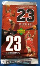 Upper Deck NBA Basketball Lebron James/Michael Jordan Bonus Pack Trading Cards
