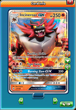 Incineroar-GX Regular Art for Pokemon TCG Online (in Game PTCGO, Digital Card)