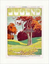 *Schnäppchen 10* Titelseite der Nr. 25 von 1897 Richard Riemerschmid Jugend 3076