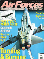 Air Forces Monthly 139 F-117 Stealth Fighter Norwegian Vipers Hellfire Missle