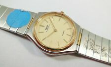 Lassale by Seiko Two-Tone Stainless Steel 1230-0300 Sample Watch NON-WORKING
