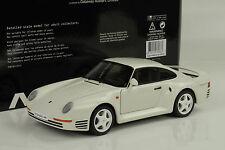 1986 Porsche 911 959  weiss white 1:18 Autoart 78083