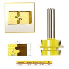 "Glue Joint Router Bit - Medium Reversible- 1/2*1/4 - 1/2"" Shank -"
