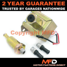 ELECTRIC FUEL PUMP UNIVERSAL FOR PETROL DIESEL CARBURETTOR ENGINES