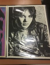 SHEPARD FAIREY OBEY JOAN JETT PRINT SIGNED AND NUMBERED MINT CONDITION