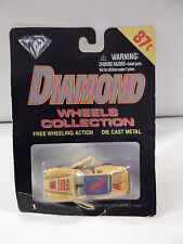 "DIAMOND WHEELS COLLECTION  #76 ""MAN AND MACHINE"" DIE CAST  NIP"