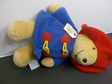 """PADDINGTON 12"""" KIDS GIFTS PLUSH PLEASE LOOK AFTER THIS BEAR THANK YOU"""