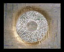 """THOMAS VISALIUS: """"Círculo De Oro"""". Original Pintura Acrílico sobre lienzo"""