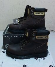 New Caterpillar 75117 7.5 W brown oil-tanned leather work boots (1777)