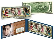Malala Yousafzai *I AM MALALA* Legal Tender US Colorized $2 Bill  PAKISTANI HERO