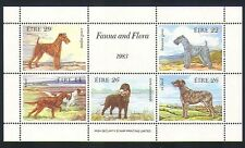 Ireland 1983 Irish Dogs/Animals/Pets/Nature 5v m/s (n32755)