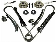 New Timing Chain Kit Cam Phasers VVT Valves For Ford F-150 F-250 w/ Seal & Screw