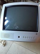 """GENERAL ELECTRIC COLOR TV 13"""" WHITE - MODEL TX826TB"""