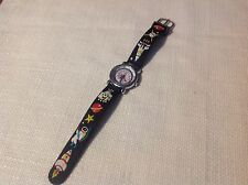 Boy's FG ( Outer Space ) Quartz Wrist Watch Analog