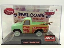 Disney Store Chase Surf John Lassetire Pixar CARS Diecast in Collectors Case