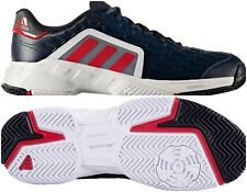 Adidas Barricade Court 2 Men's Tennis Shoes Sz 8.5 Navy / White